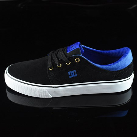 Size 10.5 in DC Shoes Trase S Shoes, Color: Black, Blue