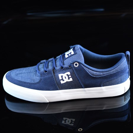 Size 10.5 in DC Shoes Lynx Vulc TX Shoes, Color: Navy