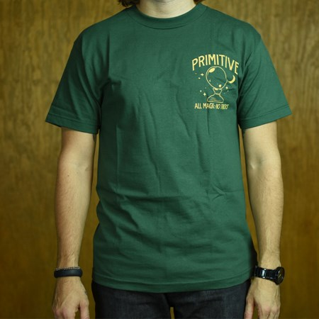 Primitive Magic T Shirt Green