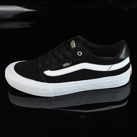 Size 10.5 in Vans Style 112 Pro Shoes, Color: Black, Black, White