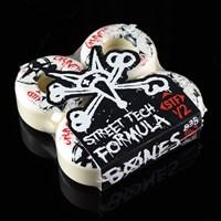 $32.00 Bones Wheels Gravette Killers Wheels, Color: White