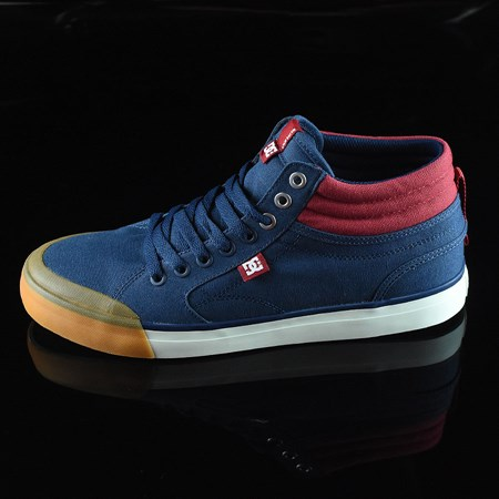 Size 10.5 in DC Shoes Evan Smith HI Shoe, Color: Navy, Red