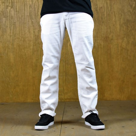 Size 32 in Vans V56 Standard, Color: White