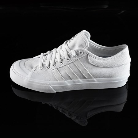 Size 11 in adidas Matchcourt Low Shoes, Color: White, White