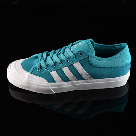 Size 8.5 in adidas Matchcourt Low Shoes, Color: Energy Blue, White