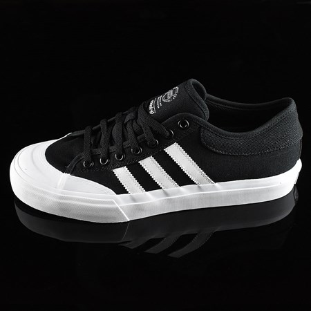 Size 11 in adidas Matchcourt Low Shoes, Color: Black, White