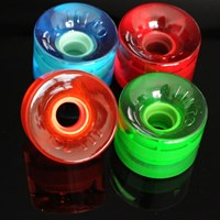 OJ III Wheels Hot Juice Mini 78A Cruiser Wheels, Color: Candy Translucent in stock.