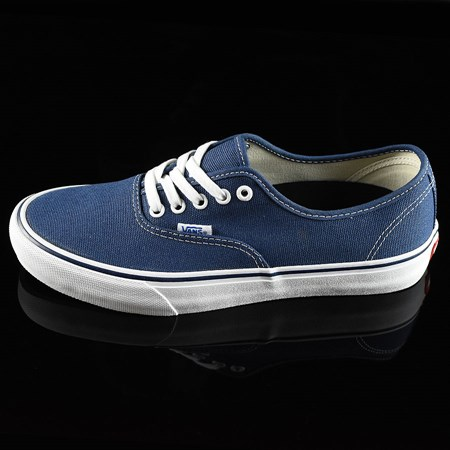 Size 11 in Vans Authentic Pro 50th '74 Shoes, Color: Navy, White
