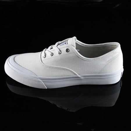 Size 10.5 in HUF Cromer Shoes, Color: White