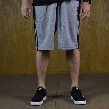 Size Large in adidas Clima Knit Shorts, Color: Grey