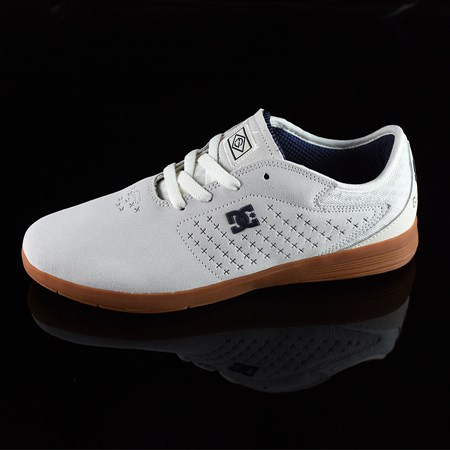 Size 10.5 in DC Shoes New Jack S Felipe Shoes, Color: White, Gum