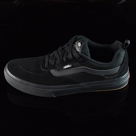 Size 11 in Vans Kyle Walker Pro Shoes, Color: Blackout