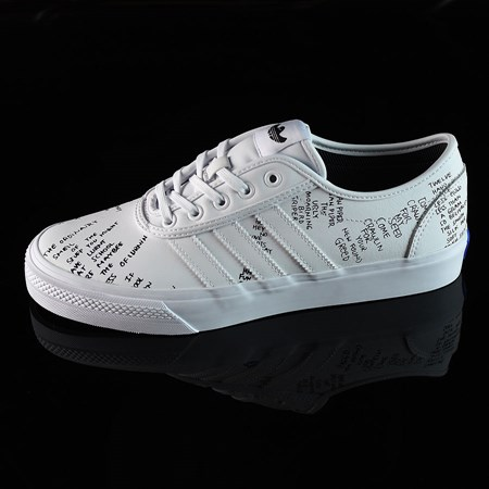 Size 8.5 in adidas Adi-Ease Classified Shoes, Color: White, Black