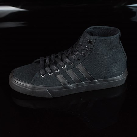 Size 8.5 in adidas Matchcourt RX Shoes, Color: Black, Black
