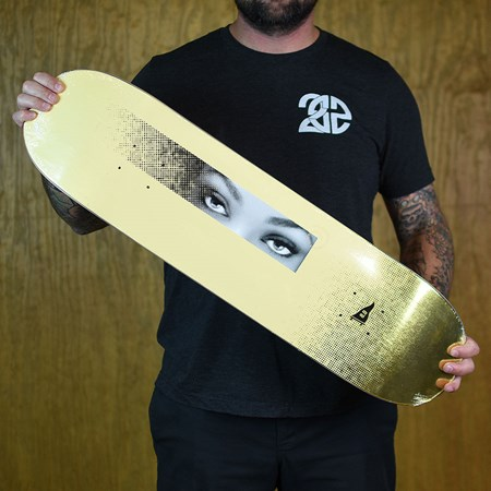 Primitive Paul Rodriguez Eyes Deck Yellow
