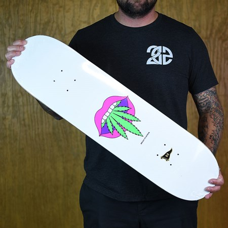 Primitive Brian Peacock Taste Buds Deck Multi Colored