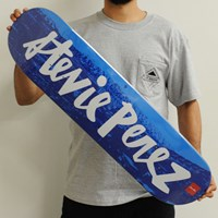 Chocolate Stevie Perez Chunk City Deck in stock.