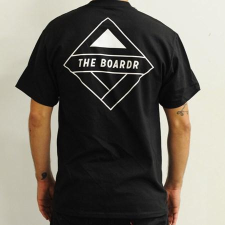 The Boardr Pocket T Shirt Black